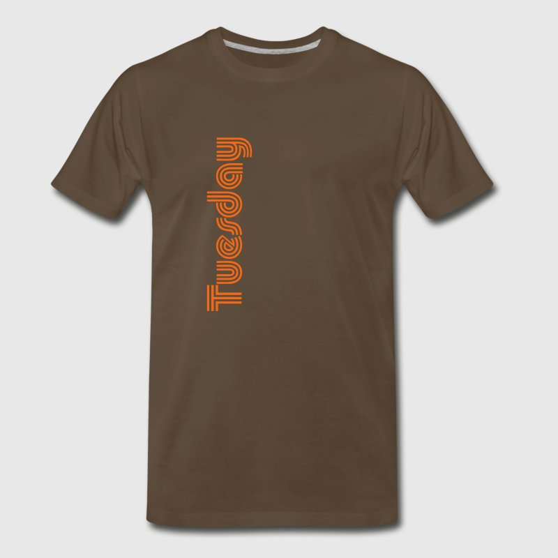 Days of the Week - Tuesday - Men's Premium T-Shirt