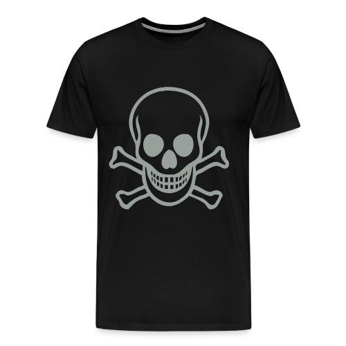 Black coffin skull T - Men's Premium T-Shirt