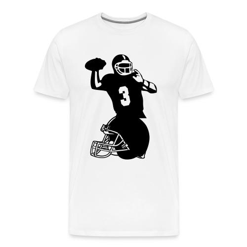 Guys Football GOShirt - Men's Premium T-Shirt