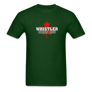 Whistler Kicks Ass 2 - Men's T-Shirt