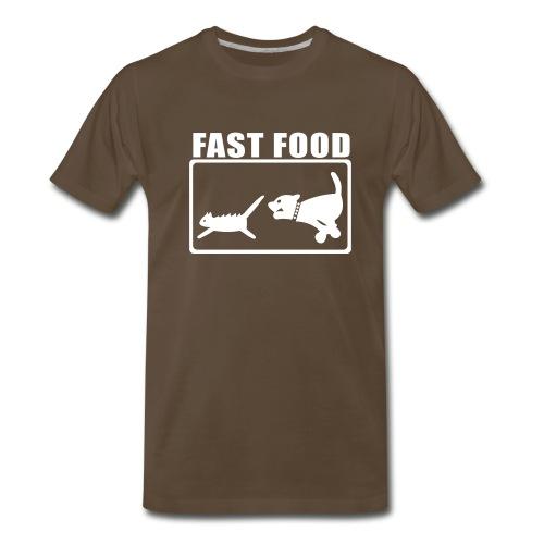 Look Out McDonald's - Men's Premium T-Shirt