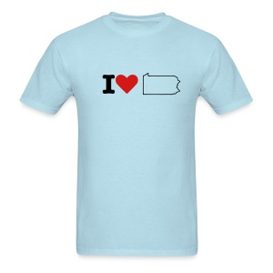 I love PA - Men's T-Shirt