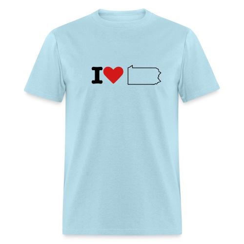 I love PA - Men's T-Shirt