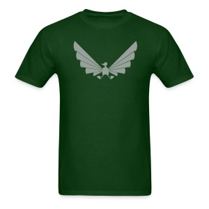 LOA - grey on green - Men's T-Shirt