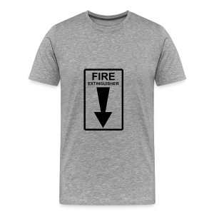 Fire Tee - Men's Premium T-Shirt