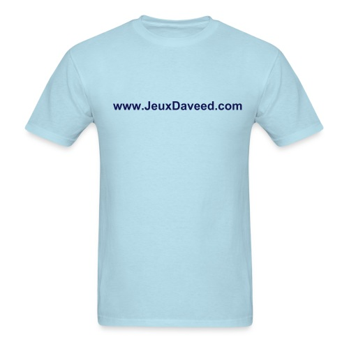 T-Shirt JdD Hommes (Bleu pale) - Men's T-Shirt