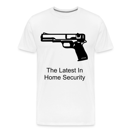 Home Security Tee - Men's Premium T-Shirt