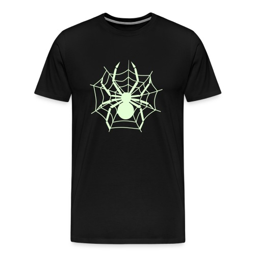Spider - Glow in the Dark T-Shirt - Men's Premium T-Shirt