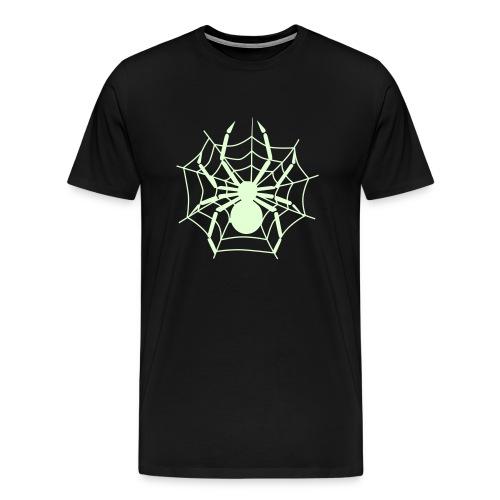 Spider - Glow in the Dark T-Shirt - Men's Premium T-Shirt