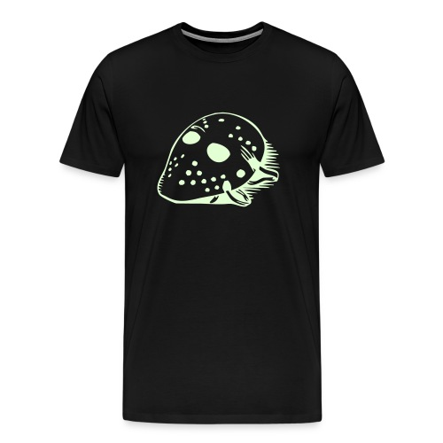 Hockey Mask Glow in the Dark T-Shirt - Men's Premium T-Shirt