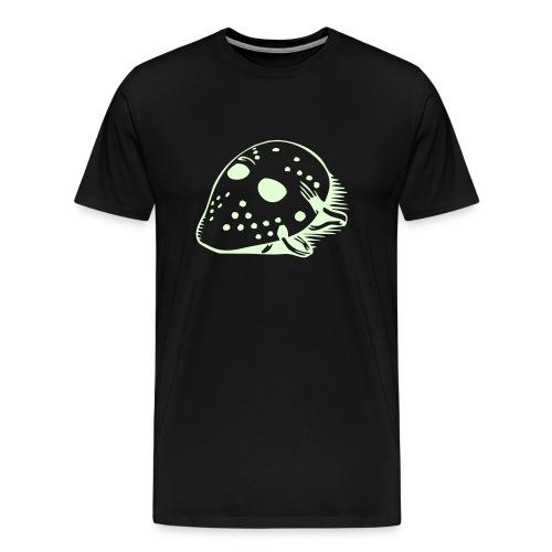Hockey Mask Glow in the Dark T-Shirt - Men's Premium T-Shirt