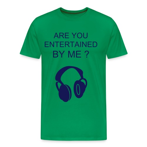 HEADPHONE TEE - Men's Premium T-Shirt