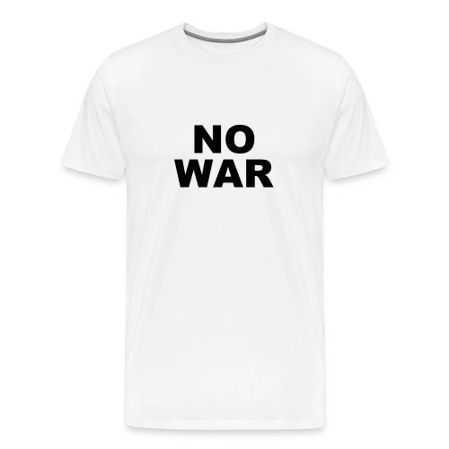 NO WAR - Men's Premium T-Shirt