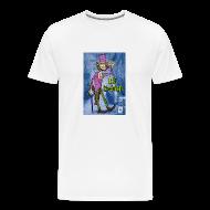 T-Shirts ~ Men's Premium T-Shirt ~ P.U. Evolcraft Heavyweight Tee