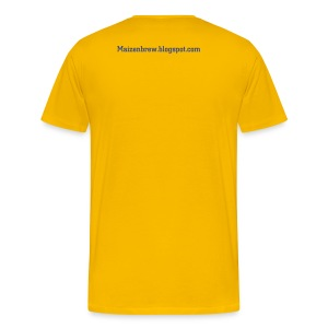 we wuv woyd Yellow - Men's Premium T-Shirt