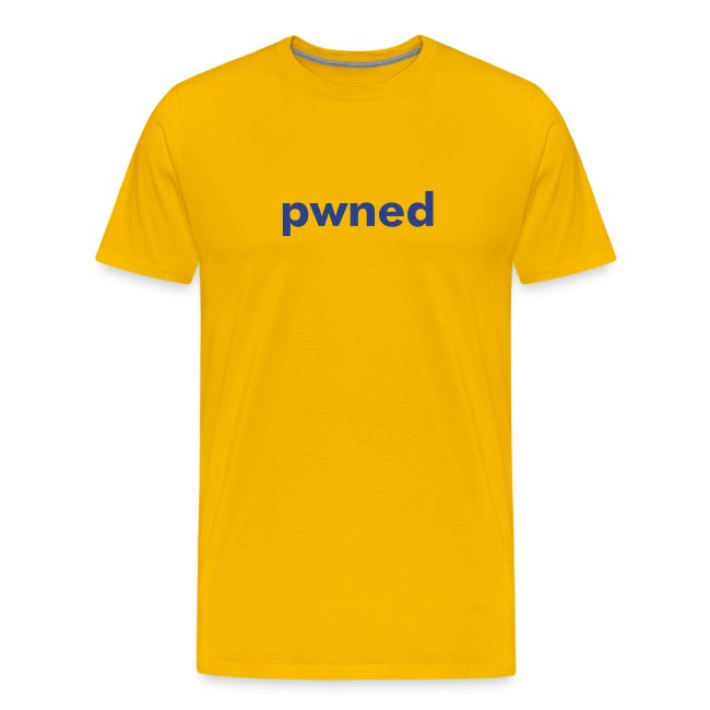 pwned yellow