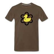 T-Shirts ~ Men's Premium T-Shirt ~ atomic duckie - brown
