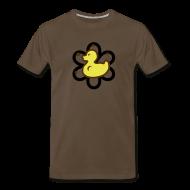 T-Shirts ~ Men's Premium T-Shirt ~ atomic duckie - brown