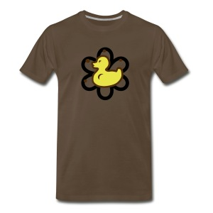 atomic duckie - brown - Men's Premium T-Shirt