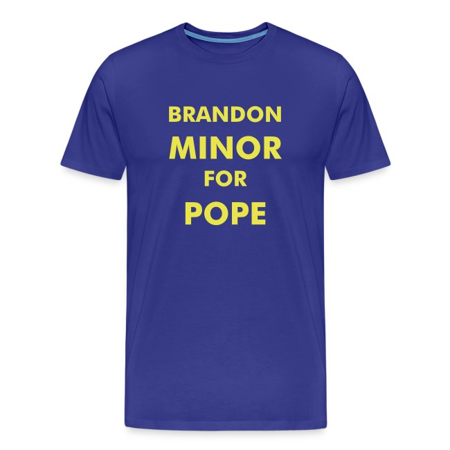 Minor For Pope Blue