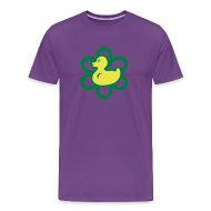 T-Shirts ~ Men's Premium T-Shirt ~ atomic duckie - purple