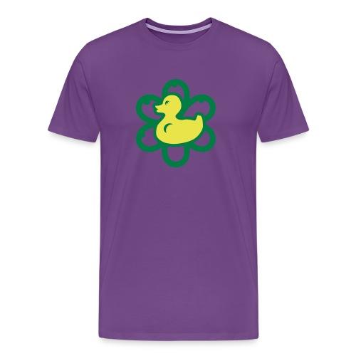 atomic duckie - purple - Men's Premium T-Shirt