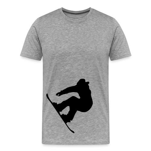 Snowboarder - Men's Premium T-Shirt