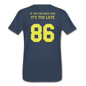 Loo Late Blue - Men's Premium T-Shirt