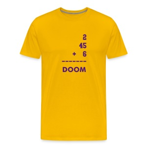 Doom Yellow - Men's Premium T-Shirt
