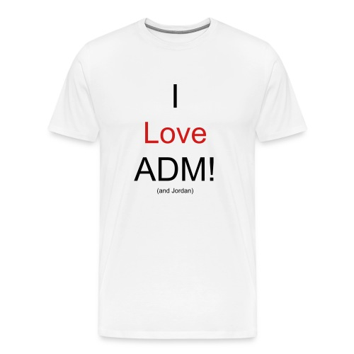 ADM and Jordan - Men's Premium T-Shirt