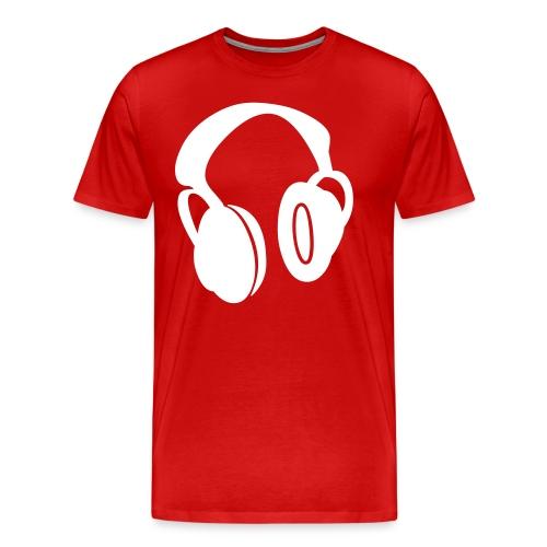 Head Phone Tee Shirt - Men's Premium T-Shirt
