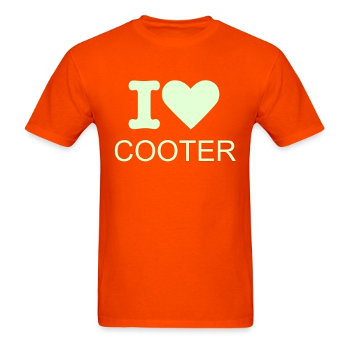 I Heart Cooter - Men's T-Shirt