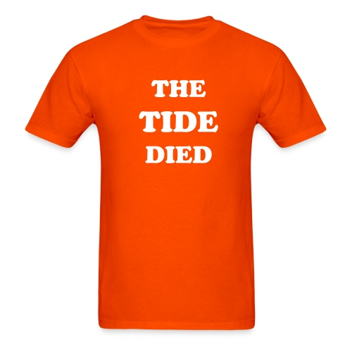Tennessee The Tide Died T-shirt - Men's T-Shirt