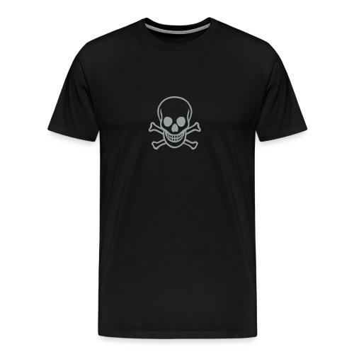 Black Skull T-Shirts - Men's Premium T-Shirt