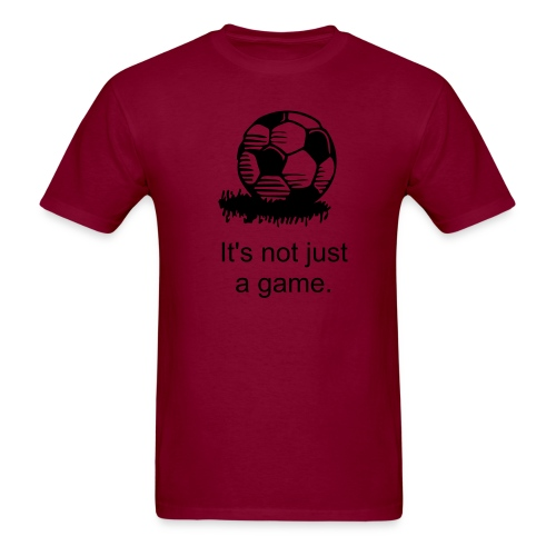 Men's Shirt: Soccer Ball - Men's T-Shirt