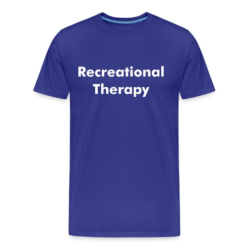 recreational therapy t-shirt - Men's Premium T-Shirt