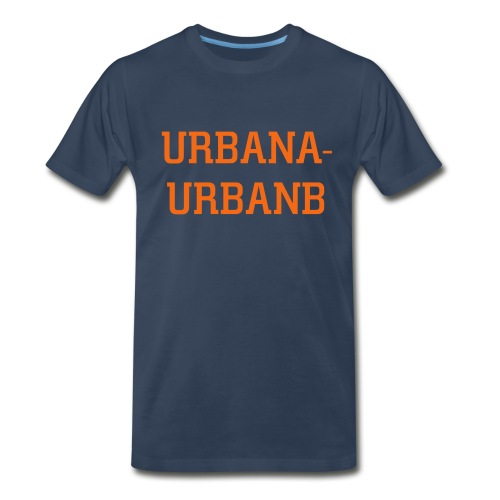 college town shirt - Men's Premium T-Shirt