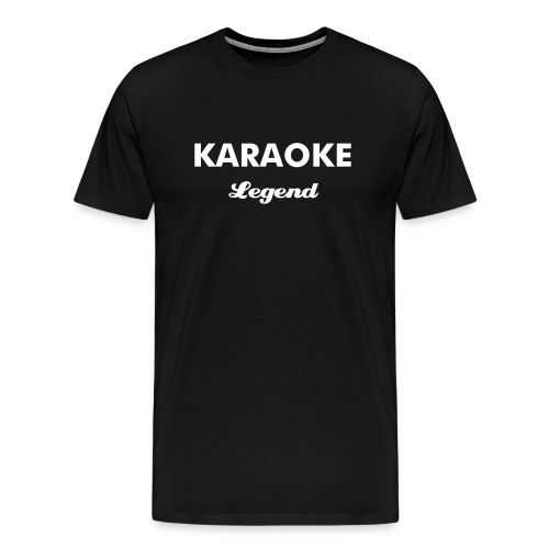 KARAOKE Legend - Men's Premium T-Shirt