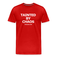 T-Shirts ~ Men's Premium T-Shirt ~ Tainted by Chaos (Purge Me!)