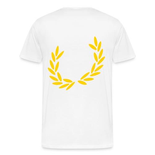 white wwa t-shirt - Men's Premium T-Shirt