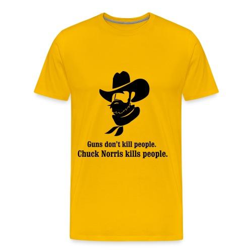 Men's Premium T-Shirt - Chuck Norris knows.