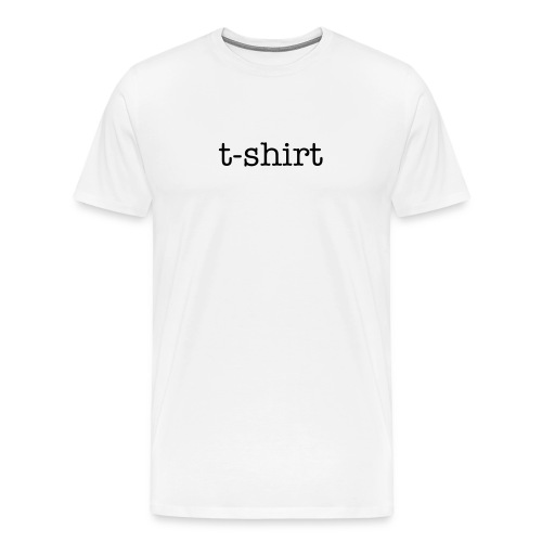 Men's Premium T-Shirt - t-shirt tee mens