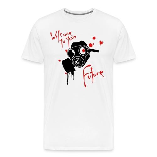 Np white tee - Men's Premium T-Shirt