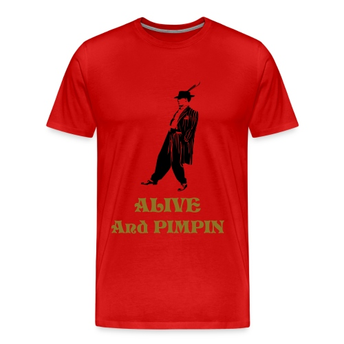 pimpin - Men's Premium T-Shirt