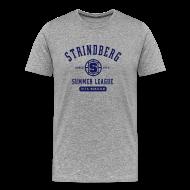T-Shirts ~ Men's Premium T-Shirt ~ August Strindberg Summer League Heavy T