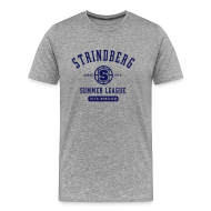 T-Shirts ~ Men's Premium T-Shirt ~ August Strindberg Summer League Heavy T