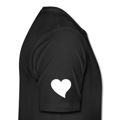 Wingman at heart Black - Men's Premium T-Shirt