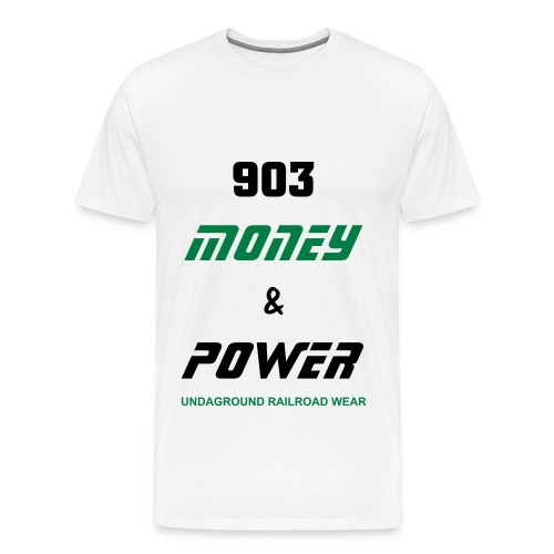 903 Money & Power Tees - Men's Premium T-Shirt