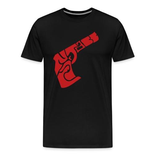 C.A.N.T.A.B.B. PISTOL RED - Men's Premium T-Shirt
