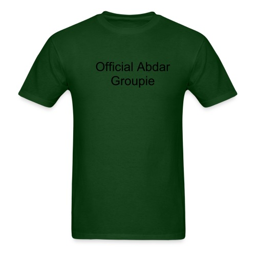 Abdar Groupie Shirt  - Green - Men's T-Shirt